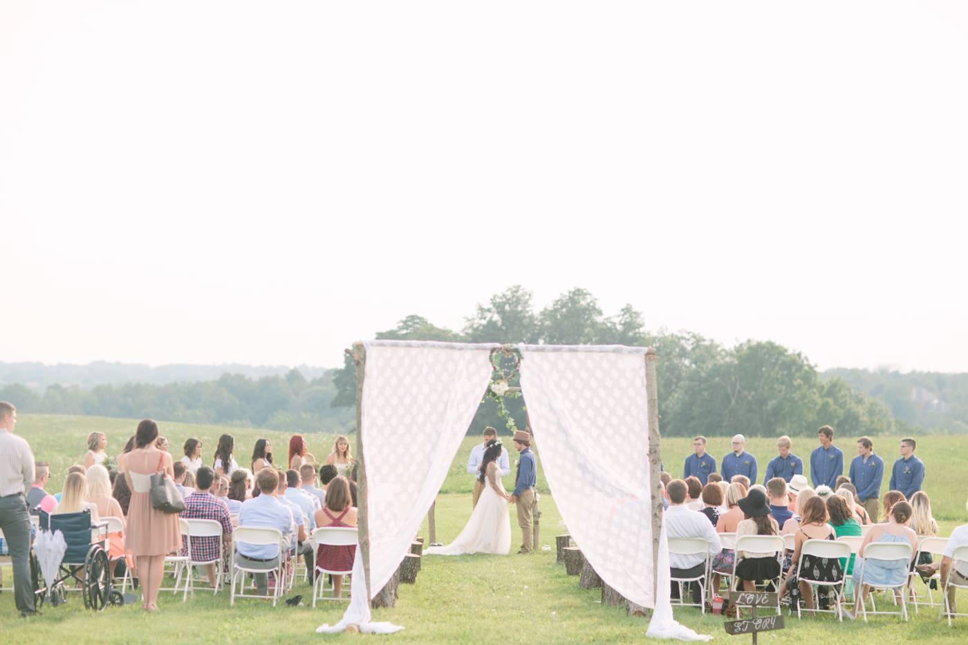 Morgan Kevin Bohemian Wedding Tire Swing Photography